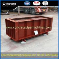 Precast concrete u drain mould