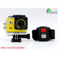 Mini 900mAh USB2.0  4k Sports Action Camera 2.0 Inch For 30M Underwater