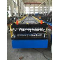 Mental Roof And Wall Corrugated Roll Forming Machine 0.4 - 0.8mm Thickness