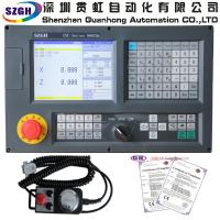 China 3 axis standard and updated series CNC  Lathe Controller supporting PLC Macro and ATC function wholesale