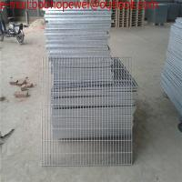Wholesale 32*5 hot dip galvanized steel grating/mild steel Q235 steel grating/rain water grating/drainage steel grating cover drai from china suppliers