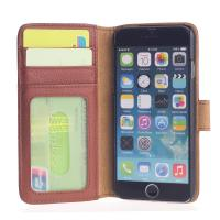 Wholesale Geniune Wallet Leather Cell Phone Case for iPhone 6 Eco-friendly from china suppliers