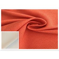 Wholesale Two - Tone Orange Waterproof Fabric 400D High Color Fastness Moisture Permeable from china suppliers