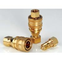 KZD Hydraulic Quick Connect Couplings High Performance Brass ISO7241-B