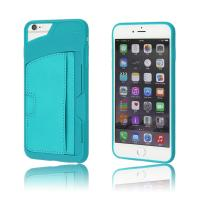 Credit card cover soft case for Apple iphone 6s TPU case