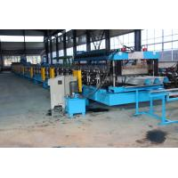 15KW X 3 Door Frame Making Machine , Stud And Track Roll Forming Machine 1.2 Inch Double Line