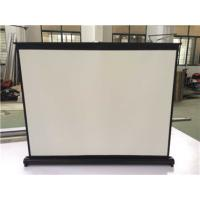 China 40'' Pull-up Portable Tabletop Projection Screen Tabletop Projectors Screen Ultraportable Table Professional Mini Screen wholesale