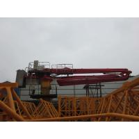 Easy Installation Climbing Concrete Placing Boom With Large Circular Arc