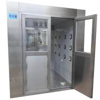 Medical Class 100 Stainless Steel Air Shower Clean Room Laboratory