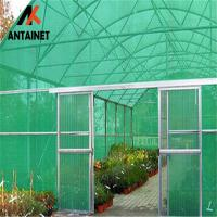 Wholesale 180 Gsm HDPE Outdoor Shade Net Heavy Duty Wind Break UV Stabilized green dark any color HDPE material from china suppliers