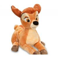 Brown Big Disney Plush Toys Bambi Cartoon Stuffed Animals Customized