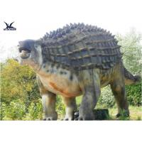 Wholesale Animatronic Outdoor Dinosaur Statues , Dinosaur Yard Decorations With Infrared Ray Sensor from china suppliers