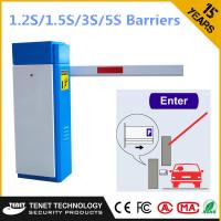 Wholesale RFID Card Reader Parking Control Barriers With 1.5S/3S/5S Speed from china suppliers