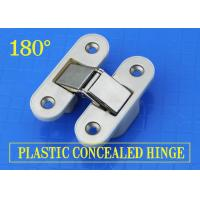 China 180 Degree American Hinge Nylon Plastic Concealed Folding Stainless Steel Door Hinges For Wooden Boxes SG-PH101 wholesale