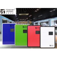 Tempered Glass Panel HVAC Large Area Scent Diffuser 500ml For Shopping Mall