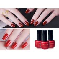 Wholesale Lacquer Varnish Enamel UV LED Gel Nail Polish / Soak Off Color Gel from china suppliers