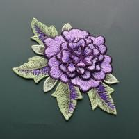 Wholesale Polyester Embroidered Floral Appliques For Jackets 11 CM X 9 CM Multi Color Available from china suppliers