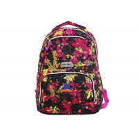42cm Middle School Student Book Bags Zippered Laptop Backpack All Over Print