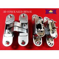 China China supply 3D adjustable zinc alloy concealed hinge for wooden door hot seeling in alibaba wholesale