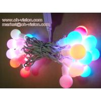 Wholesale outdoor use 10m 100 pcs led RGB ball cover led christmas string light from china suppliers