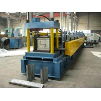 ISO Sheet Metal Z Purlin Roll Forming Machine For 1.5MM - 3.0mm Purlin