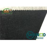 Wholesale Black Hair Interlining Fabric Interfacing Heavy Weight For Men's Suit from china suppliers