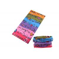 Wholesale Bicycle Simple UV Buff Headwear , Polyester Buff Tube Scarf Speed Dry from china suppliers