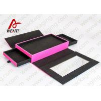customized size Foldable Paper Boxes for wrapping presents 3 Drawers