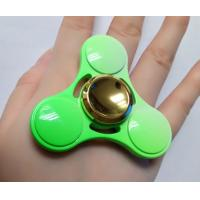 EDC New Colorful Fresh green fidget hand spinner, decompression fidget spinner toys factory price