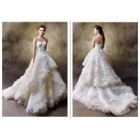 Wholesale Newest Style Hot Selling White Ball Gown Wedding Dresses For Ladies from china suppliers