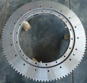 Buy cheap crawling crane slewing bearing used for caterpillar crane,turntable bearing, swing bearing, slewing ring from wholesalers