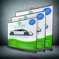 8 X 8 Collapsible Display Stand , Dye - Sub Printing Retractable Banner Display