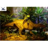 Wholesale Garden Animal Statues For Dinosaur Statue Park , Velociraptor Lawn Ornament  from china suppliers