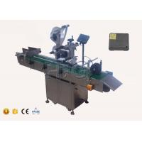 Wear resistance automatic self adhesive sticker labeling machine with collection worktable