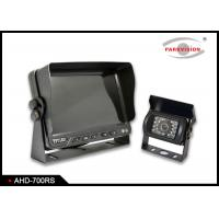 960P AHD Car Camera Monitoring System Remote Control With 3 Way Video Input