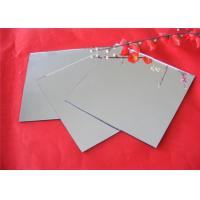 Tempered Silver Mirror Sheet , Flat Shape Decorative Mirror Glass For Furniture