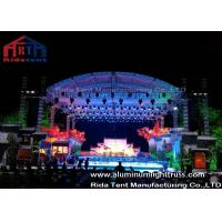 Wholesale High Loading Silver Aluminum Lighting Truss , Stage Truss System With Tuv  Certification from china suppliers