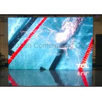 Customized indoor Commercial advertising HD P3 LED Display Screen Nova / Linsn Software Full Color LED Video Wall