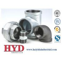 Wholesale Galvanized malleable iron pipe fitting China factory from china suppliers