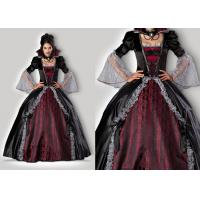 Wholesale Vampires Of Versailles 1083 Womens Halloween Costumes , Gray Red Scary Halloween Costumes from china suppliers
