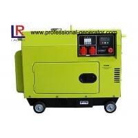 Top Mounted Fuel Tank Diesel Generator 5KW Portable Low Operating Temperature