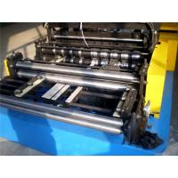 Wholesale Metal Roof Ridge Rap CZ Purlin Roll Forming Machine with High Speed 8 - 12 m/min from china suppliers
