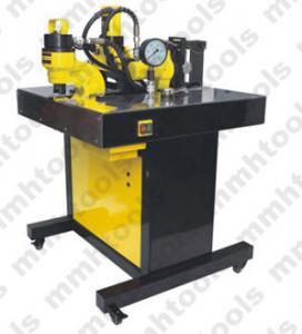 China DHY-150 hydraulic busbar bending cutting and hole punching machine wholesale