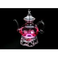 BPA Free Glass Teapot With Infuser Filter Herbal Tea Leaf Strainer Kettle 1200ml