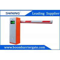 Orange Color AutomaticParking Lot Boom Barrier Gate System With LEDPanel