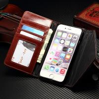 Envelope Style 2 In 1 Wallet Case Snake Connecting Litchi Contrast Color