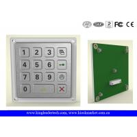 China Door Metal Keypad 4 X 4 Matrix With Rugged Stainless Steel Material wholesale