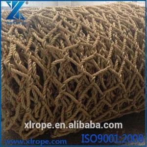 100% sisal rope made helicopter landing net