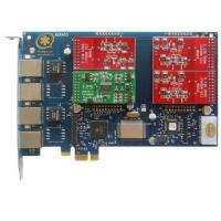 AEX410 4 Port Asterisk Card with 3FXO&1FXS PCI Express Card