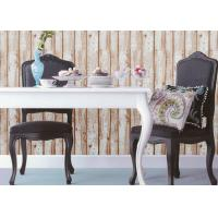 Buy cheap Wood Pattern American Natural Style 3D Home Wallpaper With PVC Material from wholesalers